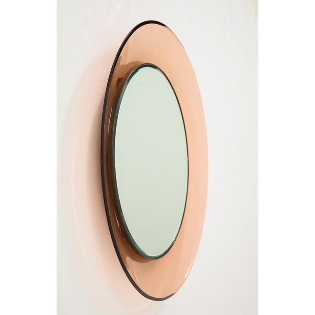 Max Ingrand Circular Wall Mirror by Max Ingrand for Fontana Arte For Sale - Image 4 of 9
