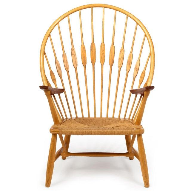 Danish Modern Hans Wegner for Johannes Hansen 'Peacock Chair', ca. 1947 For Sale - Image 3 of 10