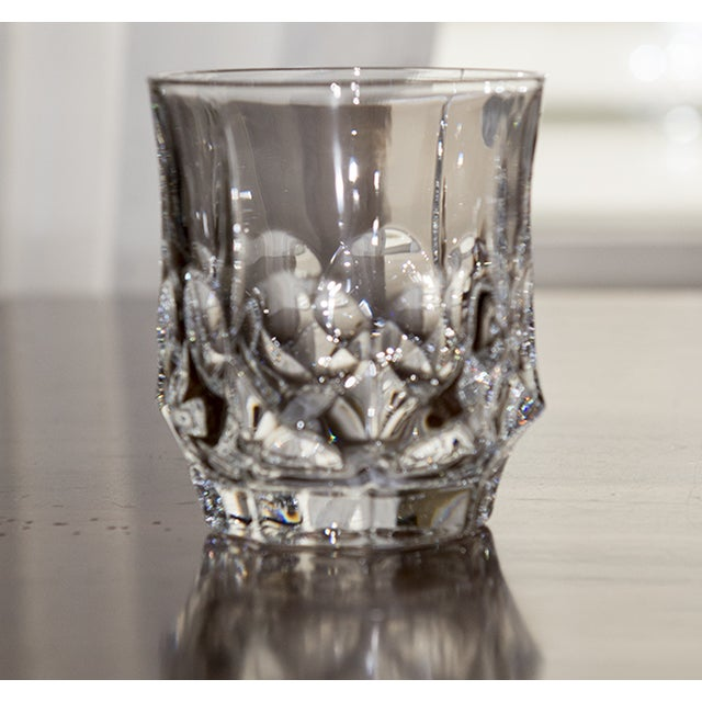 Double Czech Crystal Glasses - Set of 4 - Image 2 of 4