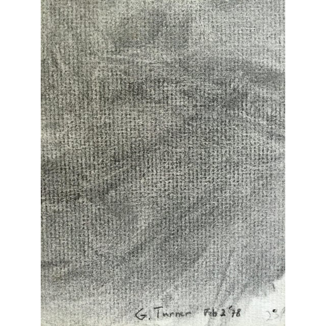 1978 Charcoal Abstract Drawing Bay Area Artist Signed For Sale In New York - Image 6 of 7