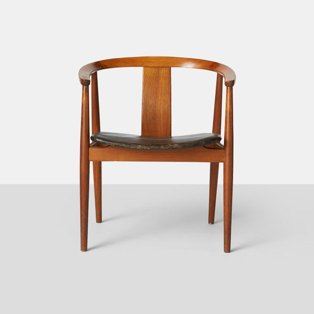 Tan Tove & Edvard Kindt-Larsen Guest Chair For Sale - Image 8 of 8