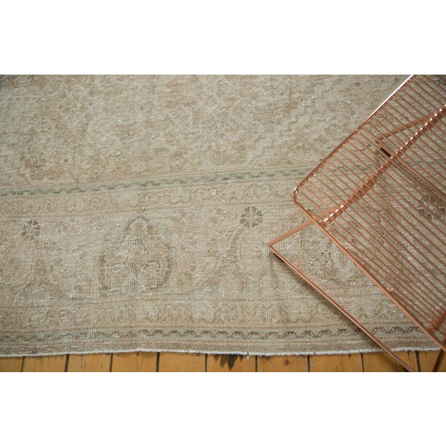 "Textile Vintage Distressed Mahal Carpet - 10'3"" x 13'8"" For Sale - Image 7 of 10"