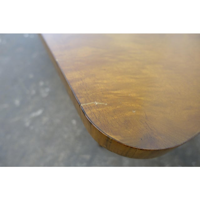 Brown 1950s Mid-Century Modern Gilbert Rohde Coffee Table For Sale - Image 8 of 9