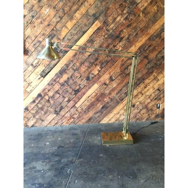 Vintage Oversize Architect's Task Lamp - Image 4 of 6