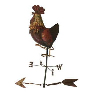 Vintage Rooster Weathervane For Sale