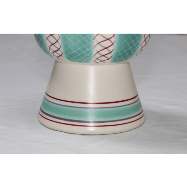 Mid 20th Century Mid-Century Modern Poole Pottery Vase For Sale - Image 5 of 11