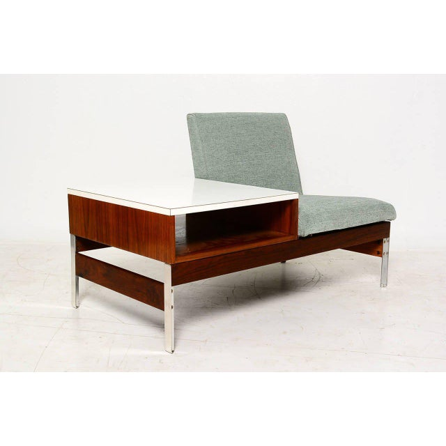 Mid-Century Seat & Table - Image 9 of 10