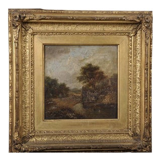 19th Century Oil Painting Circle of Charles Morris For Sale