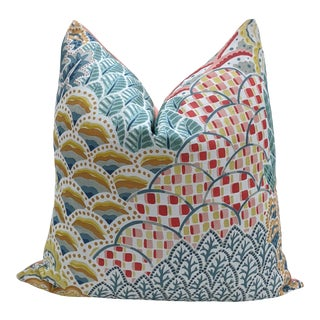 Clarence House Baloo in Multi Pillow Cover For Sale