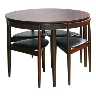 Hans Olsen Mid-Century Roundette Dining Set