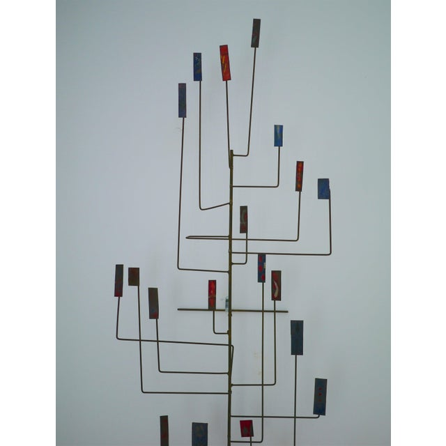 Abstract Copper Sculpture in the Manner of Harry Bertoia For Sale - Image 4 of 11