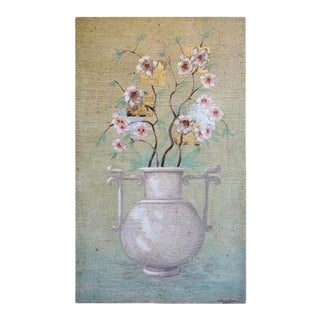 Fresco Painting by Jacques Lamay For Sale