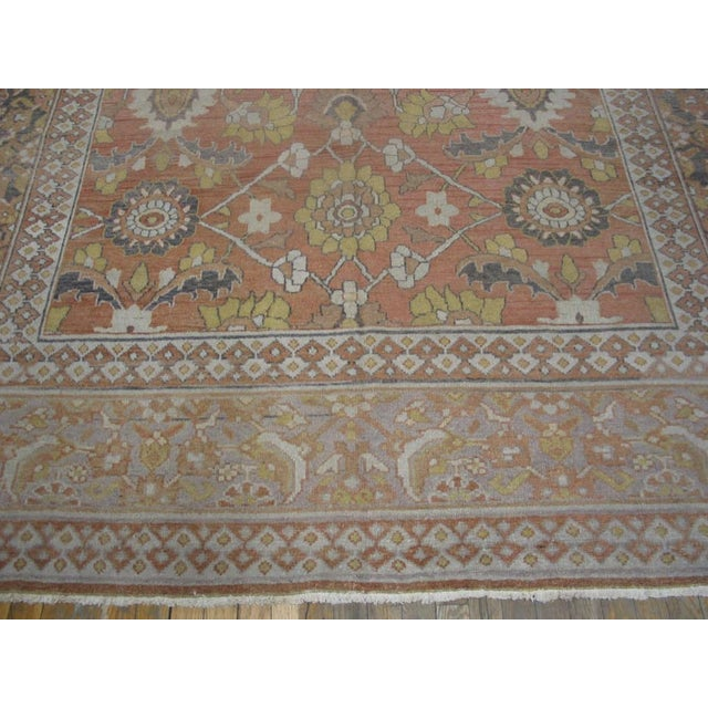 """Antique Moud Rug 8'0"""" X 15'8"""" For Sale - Image 4 of 9"""