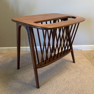 Mid Century Modern Arthur Umanoff Magazine Rack Side Table Preview