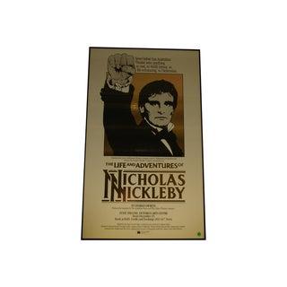 1984 Australian Theater Poster, Nicholas Nickleby