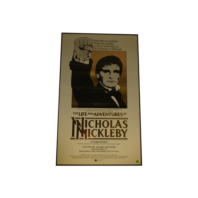 1984 Australian Theater Poster, Nicholas Nickleby - Image 1 of 6