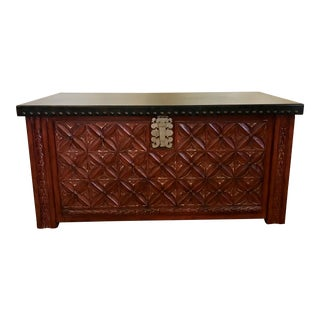 Oriental Styled Chest For Sale
