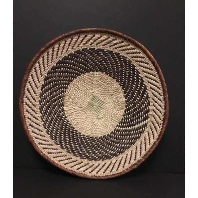 Binga Basket | Tonga Baskets 22 | African Basket | Woven Basket |Zimbabwe Basket |Ethnic Pattern |Ethnic Decor |Wall Hanging Basket - Image 3 of 8