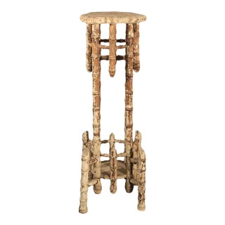 Bamboo Victorian Stand