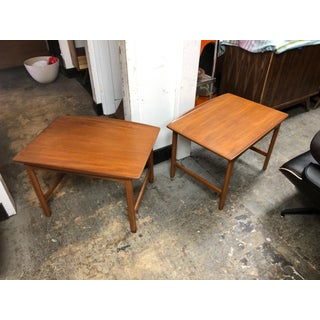 A Pair of Folk Olson Mid-Century Teak Side Tables Preview