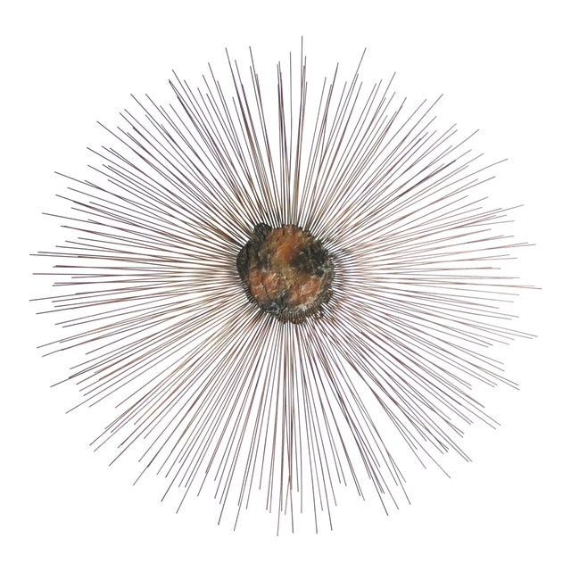 Sunburst Wall Sculpture by William and Bruce Friedle For Sale