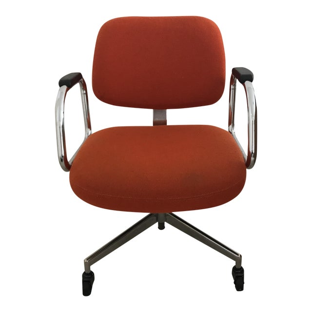 Mid-Century Modern Red Office Chair by Harter Furniture Company - Image 1 of 5