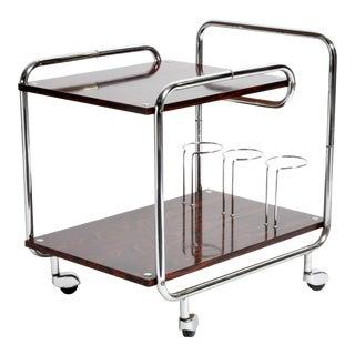 Mid-Century Modern Hungarian Bar Cart For Sale