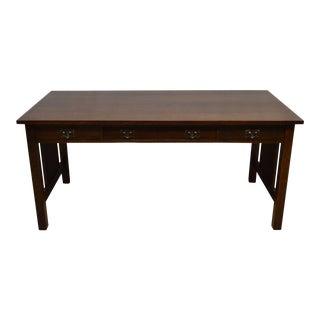 L.&J.G. Stickley Mission Style Oak Writing Desk
