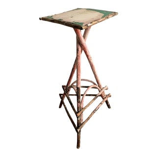Adirondack Bentwood Twig Side Table For Sale