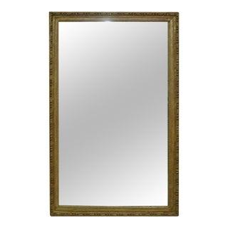 Monumental Gilt Wood Mirror Original Plates For Sale