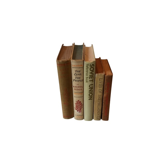 Decorative Vintage Books - Set of 5 - Image 2 of 4
