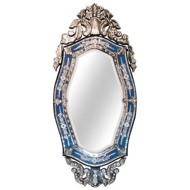 1920s Venetian Mirror, Circa 1920s For Sale - Image 5 of 5