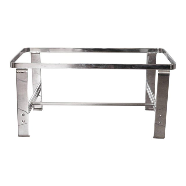 Art Deco Machine Age Wolfgang Hoffmann for Howell Cocktail Table, Rectangular For Sale