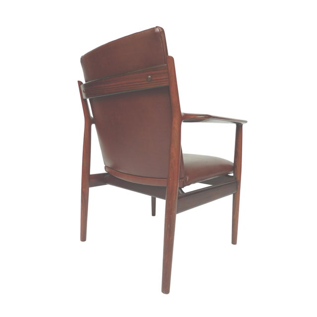 Mid-Century Rosewood Armchairs by Arne Vodder - A Pair - Image 4 of 10