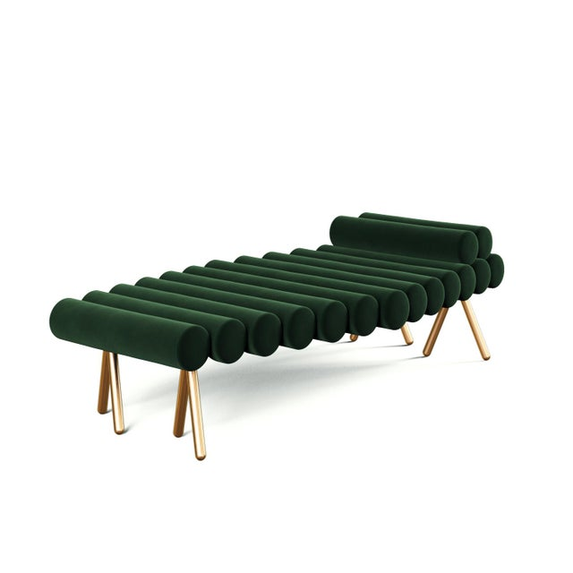 Troy Smith Designs 21st Century Custom Handmade Contemporary Day Bed For Sale - Image 4 of 4