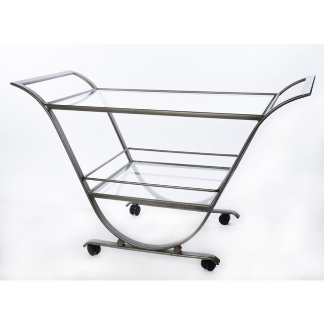 Mid-Century Serving Cart - Image 2 of 3