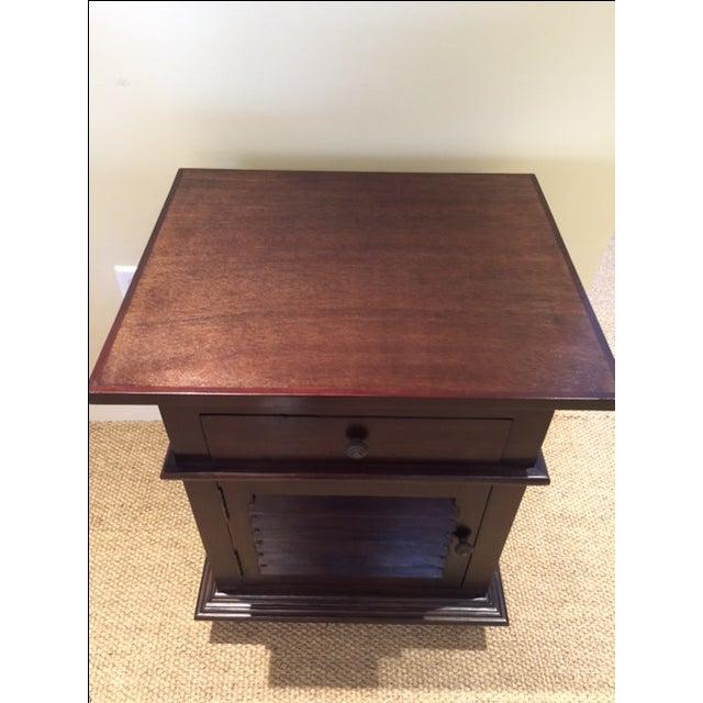Noir Shutter Side Table For Sale - Image 6 of 6