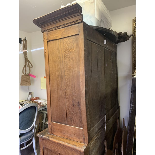 Antique French Oak Double Buffet, Circa 1860 For Sale - Image 11 of 13
