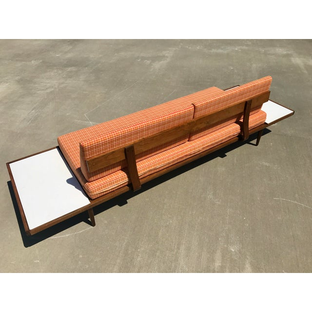 Mid-Century Formica Platform Sofa For Sale In Tampa - Image 6 of 11