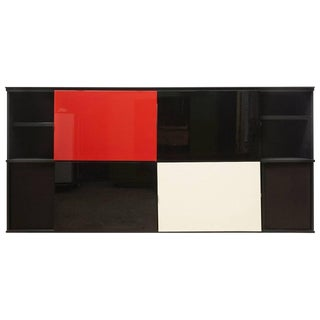 Acerbis 1980s Sideboard Designed by Lodovico Acerbis and Giotto Stoppino For Sale