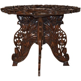 19th Century Anglo-Indian Side Table For Sale