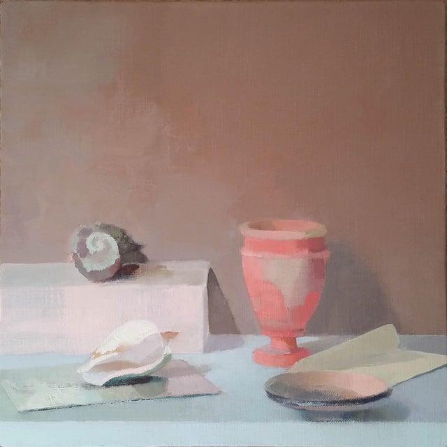 Classique, oil on linen by Stephanie London
