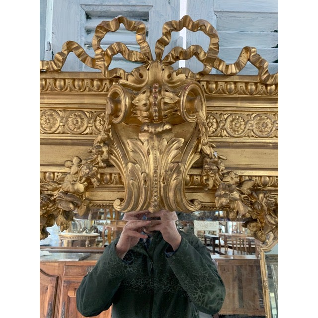 Early 18th Century 18th Century French Louis XVI Period Mirror For Sale - Image 5 of 10