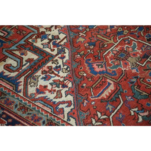 "Vintage Heriz Carpet - 8'1"" X 10'7"" - Image 10 of 10"