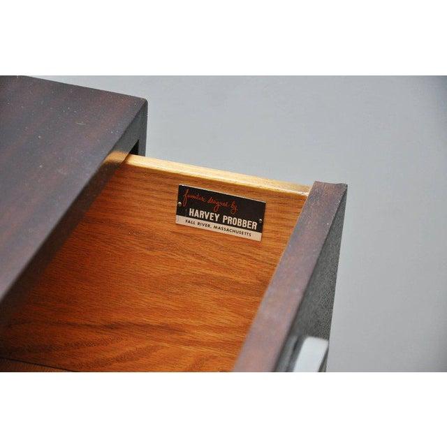 Metal Harvey Probber Long Sideboard Dresser For Sale - Image 7 of 10