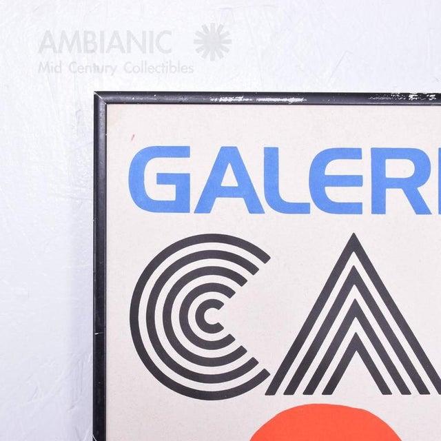 Paper Galerie Maeght Calder Poster For Sale - Image 7 of 9