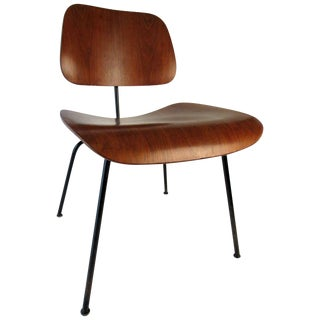 Set of Four Early Ray & Charles Eames Dcm Chairs C 1955 For Sale