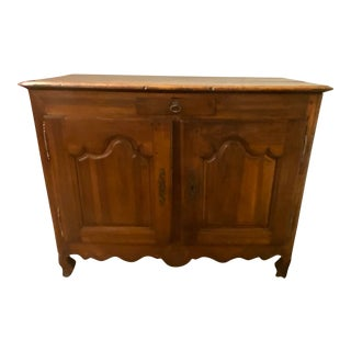 18th Century French Walnut Buffet For Sale