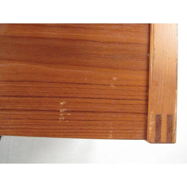 Scandinavian Modern Teak Desk For Sale - Image 5 of 11