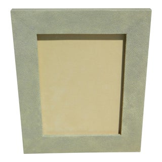 Sage Shagreen Picture Frame For Sale